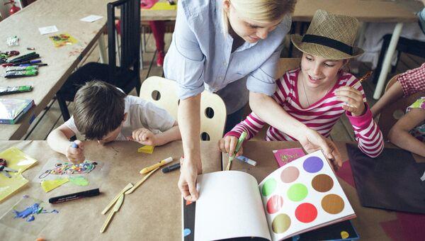 Образовательные программы для детей в центре современной культуры Гараж