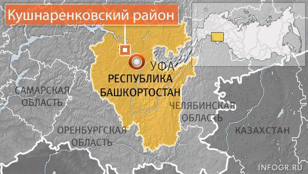 Два человека погибли при падении самолета в Башкирии