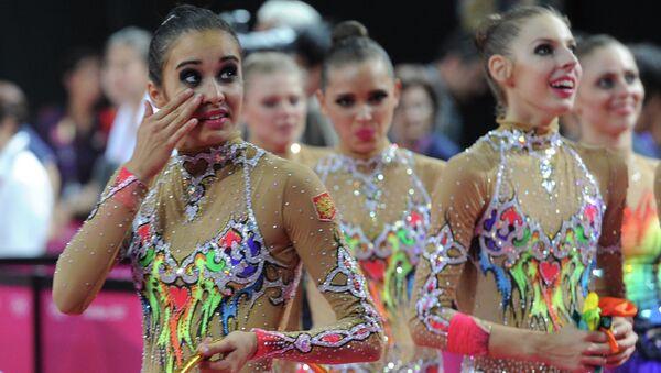 Анастасия Назаренко, Анастасия Близнюк, (слева направо на первом плане). Архивное фото