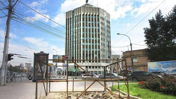 Рекламный щит, вызвавший недовольство Грефа, демонтировали в Новосибирске