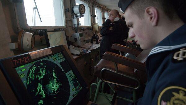 Военные учения на флоте. Архивное фото