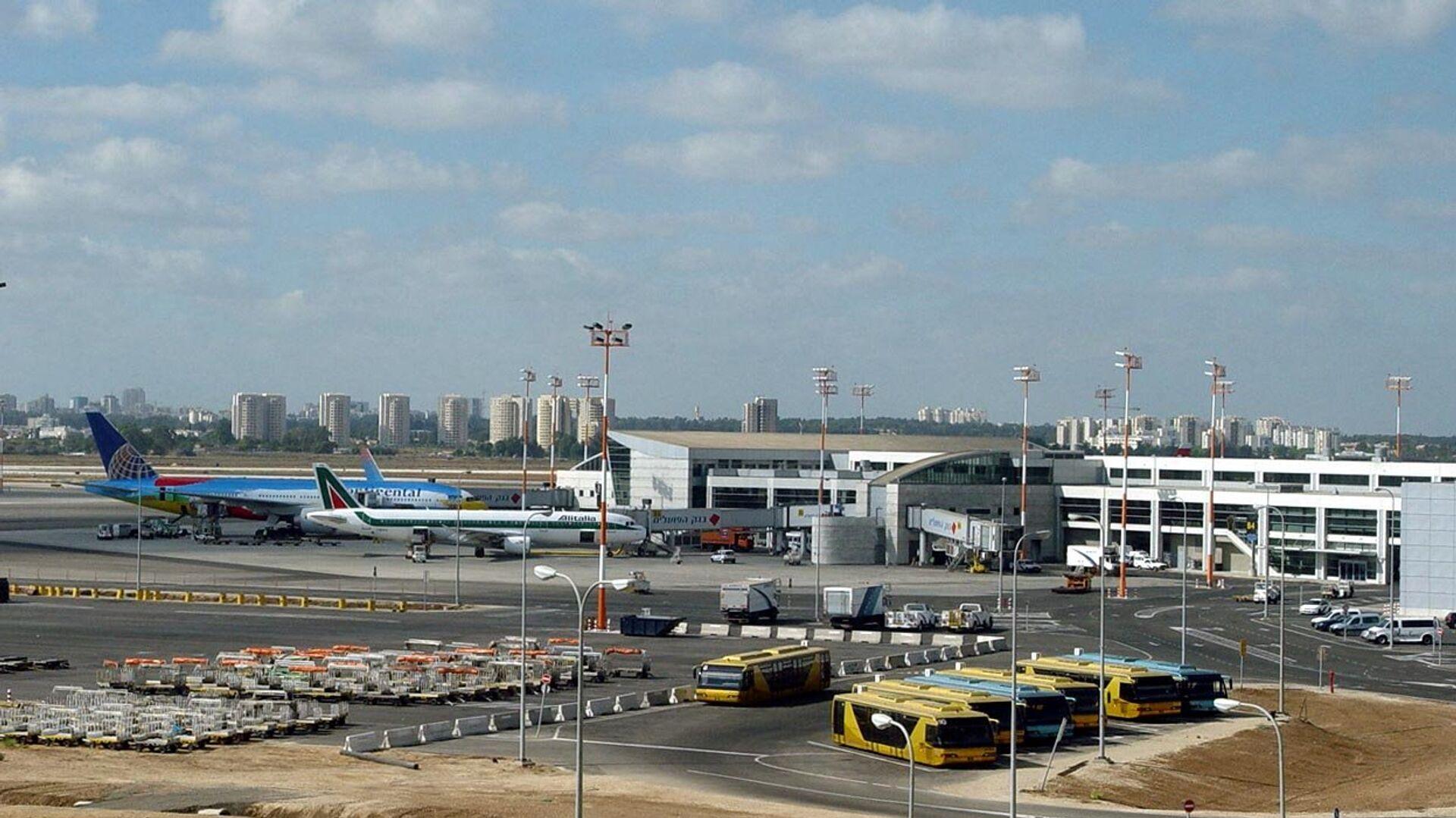 Аэропорт имени Давида Бен-Гуриона в Тель-Авиве - РИА Новости, 1920, 08.03.2021