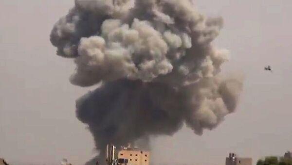 Ситуация в Дейр-эз-Зоре в Сирии. Архивное фото