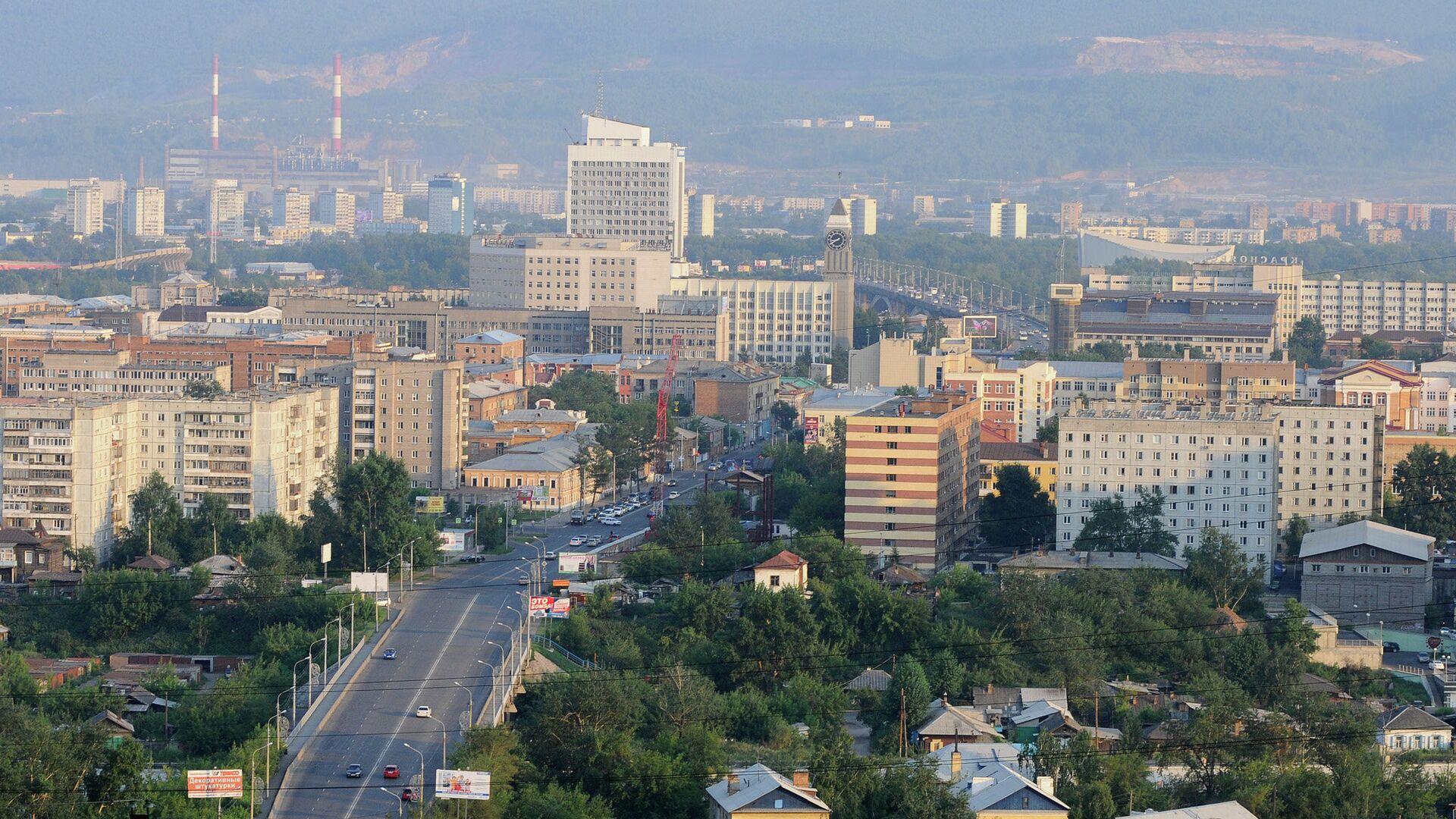 Красноярск, центр города - РИА Новости, 1920, 20.06.2021