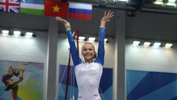Российская гимнастка Мария Пасека. Архивное фото