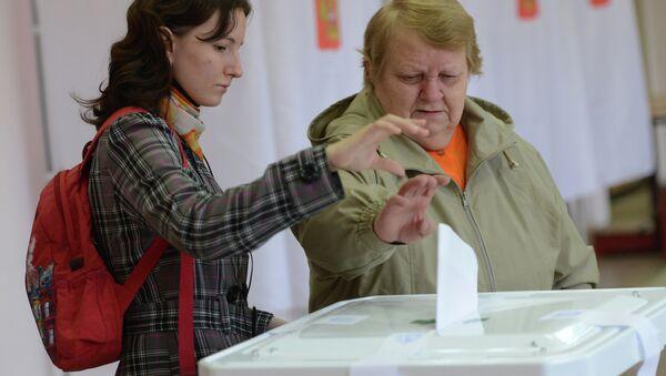 Выборы мэра Москвы, архивное фото