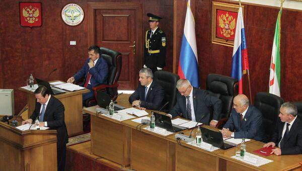 Выборы глав республики Дагестан и Ингушетии