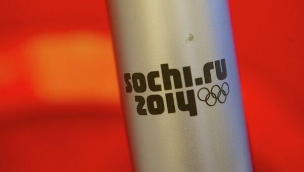 Факел Олимпийского огня, архивное фото