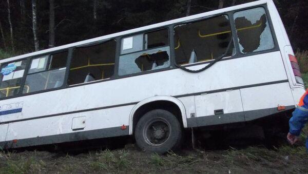 ДТП в Тосненском районе Ленинградской области, фото с места событий