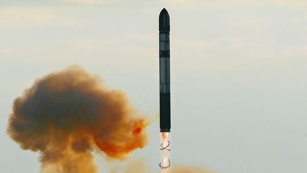 Запуск ракеты РС-20