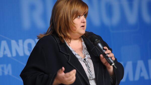 Адвокат Виолетта Волкова. Архивное фото
