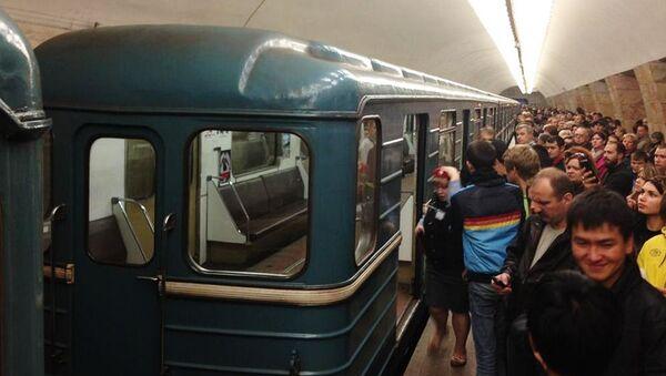 Движение поездов прервано на серой ветке московского метро