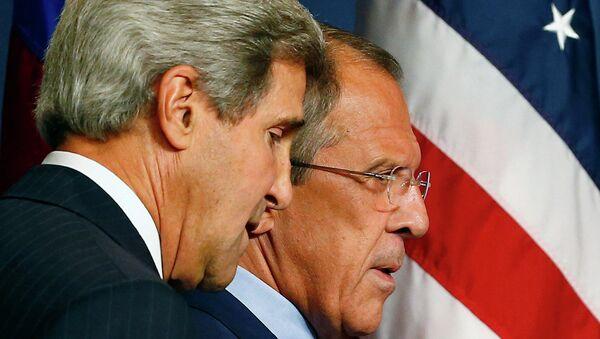 Встреча Сергея Лаврова и Джона Керри по Сирии