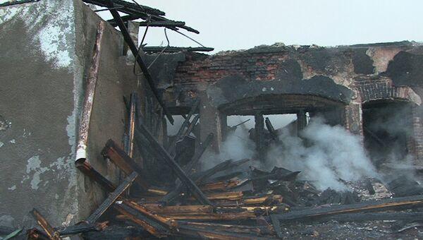 Пожар в интернате в Новгородской области 13 сентября