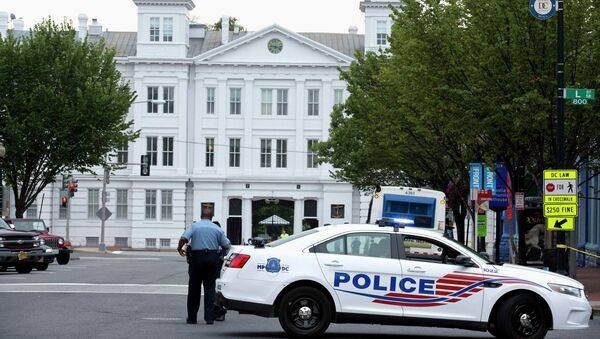 Стрельба произошла в здании командования вооружения ВМС США в Вашингтоне, фото с места событий