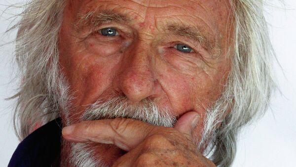 Французский актер и режиссер Пьер Ришар. Архивное фото