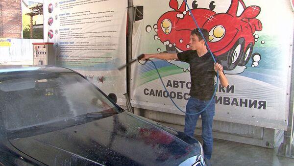 Чистая машина за десять рублей: плюсы и минусы моек самообслуживания