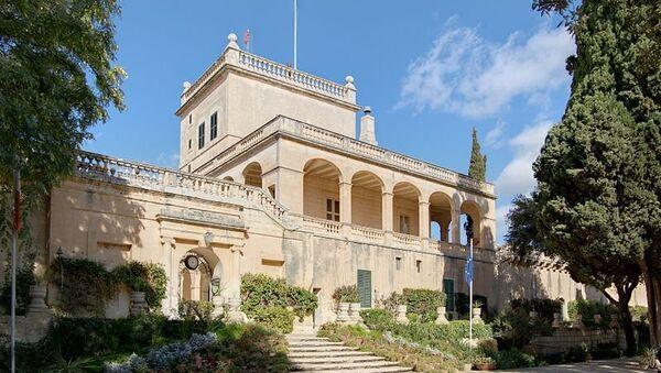 Президентский дворец Сант-Антон на Мальте. Архивное фото