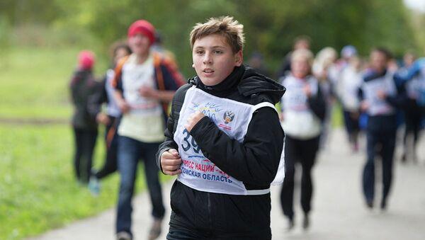Всероссийский день бега Кросс наций - 2013 в Томске