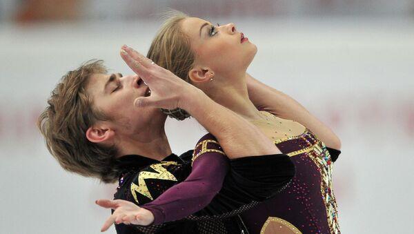 Анастасия Мартюшева и Алексей Рогонов. Архивное фото.