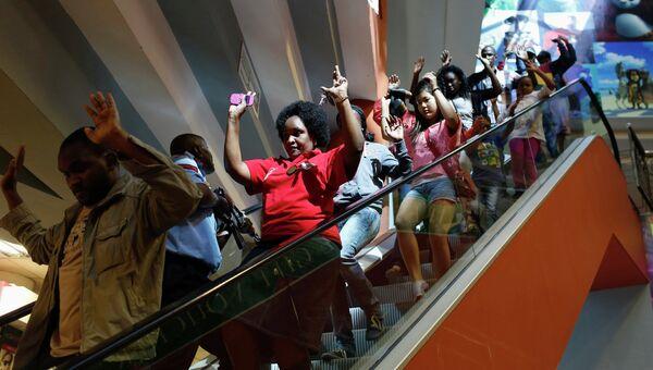 Захват заложников в торговом центре Найроби, Кения, архивное фото