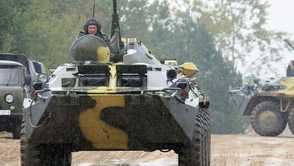 Учения вооруженных сил России и Белоруссии Запад-2013, фото с места события