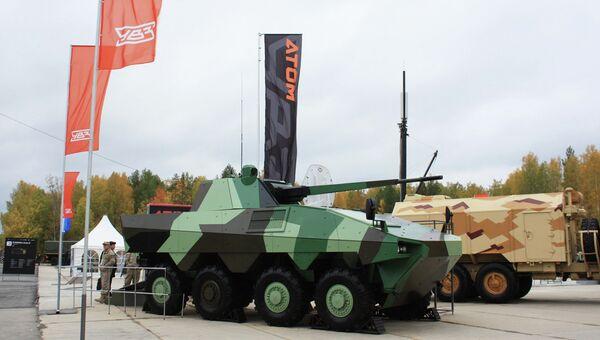 Прототип боевой машины пехоты, архивное фото