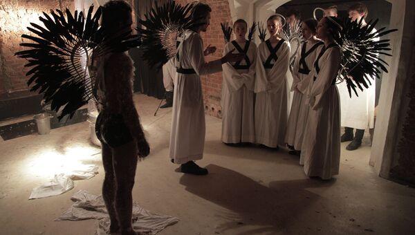 Сцена из спектакля Второе видение
