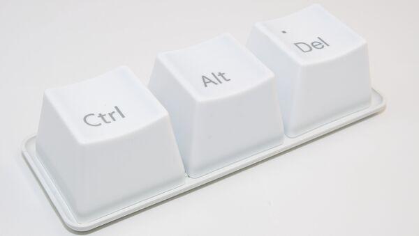 Клавиши Ctrl-Alt-Del, архивное фото