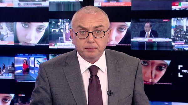 Журналист и телеведущий Павел Лобков