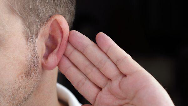 Глухой мужчина