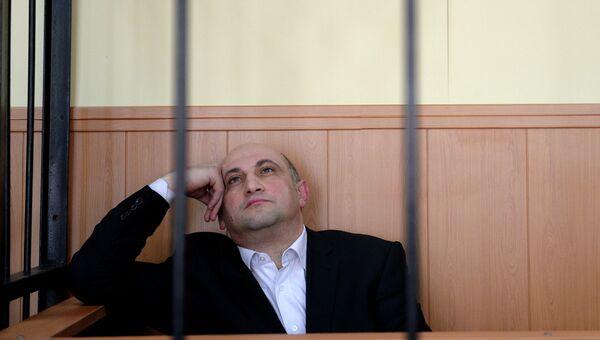 Рассмотрение ходатайства о продлении ареста Арнольду Шалмуеву, архивное фото
