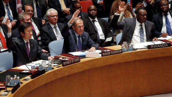 Принятие решения СБ ООН по химоружию в Сирии