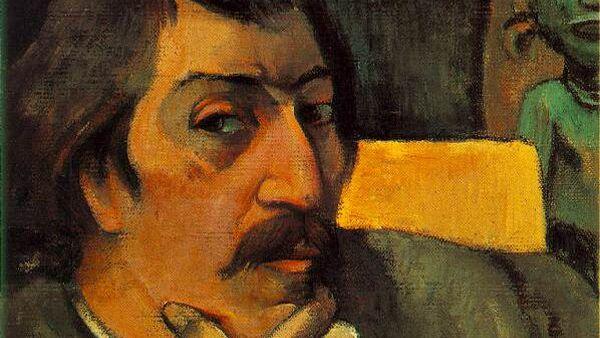 Поль Гоген. Автопортрет. Ок. 1893 г.