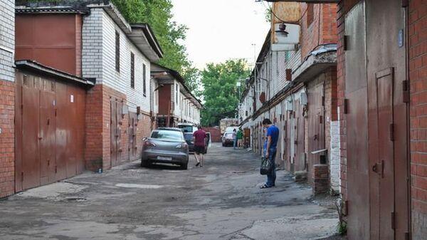 Гаражи, Москва. Архивное фото.