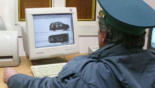 КПП на границе России и Украины. Архивное фото