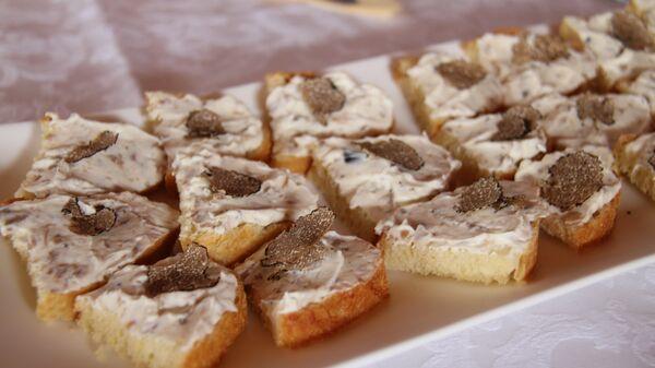 Бутерброды с трюфелями