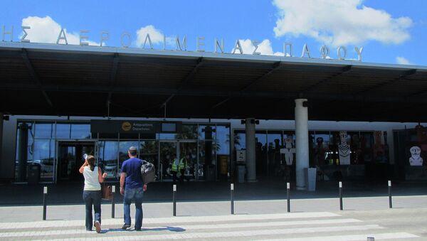 Аэропорт Пафос, архивное фото