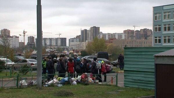 Тела пяти младенцев обнаружили в мусорном баке в Балашихе. Кадры с места ЧП