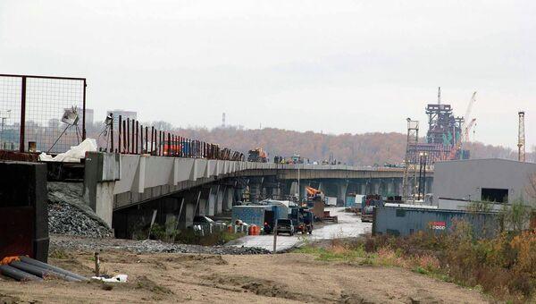 Третий мост через Обь в Новосибирске