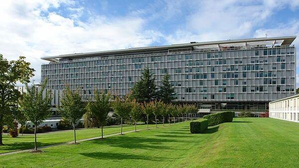 Штаб-квартира ВОЗ в Женеве, архивное фото
