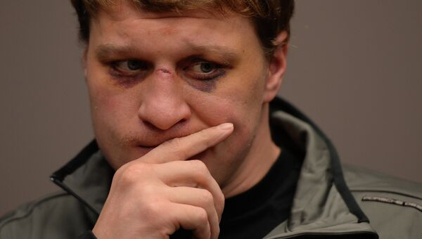 Пресс-конференция боксера Александра Поветкина