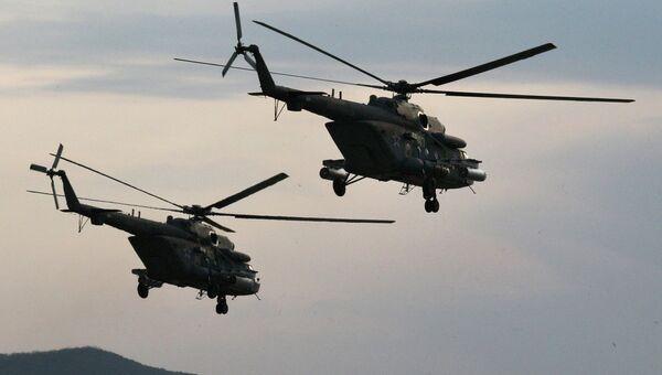 Вертолеты Ми-8 АМТШ