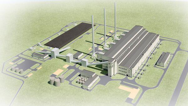 Проект строительства Сахалинской ГРЭС-2. Архивное фото