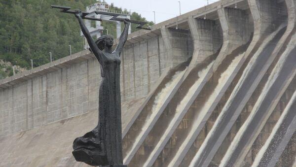 Зейская ГЭС, фото с места события