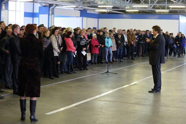 Иван Кляйн на встрече с избирателями, Газпром трансгаз Томск
