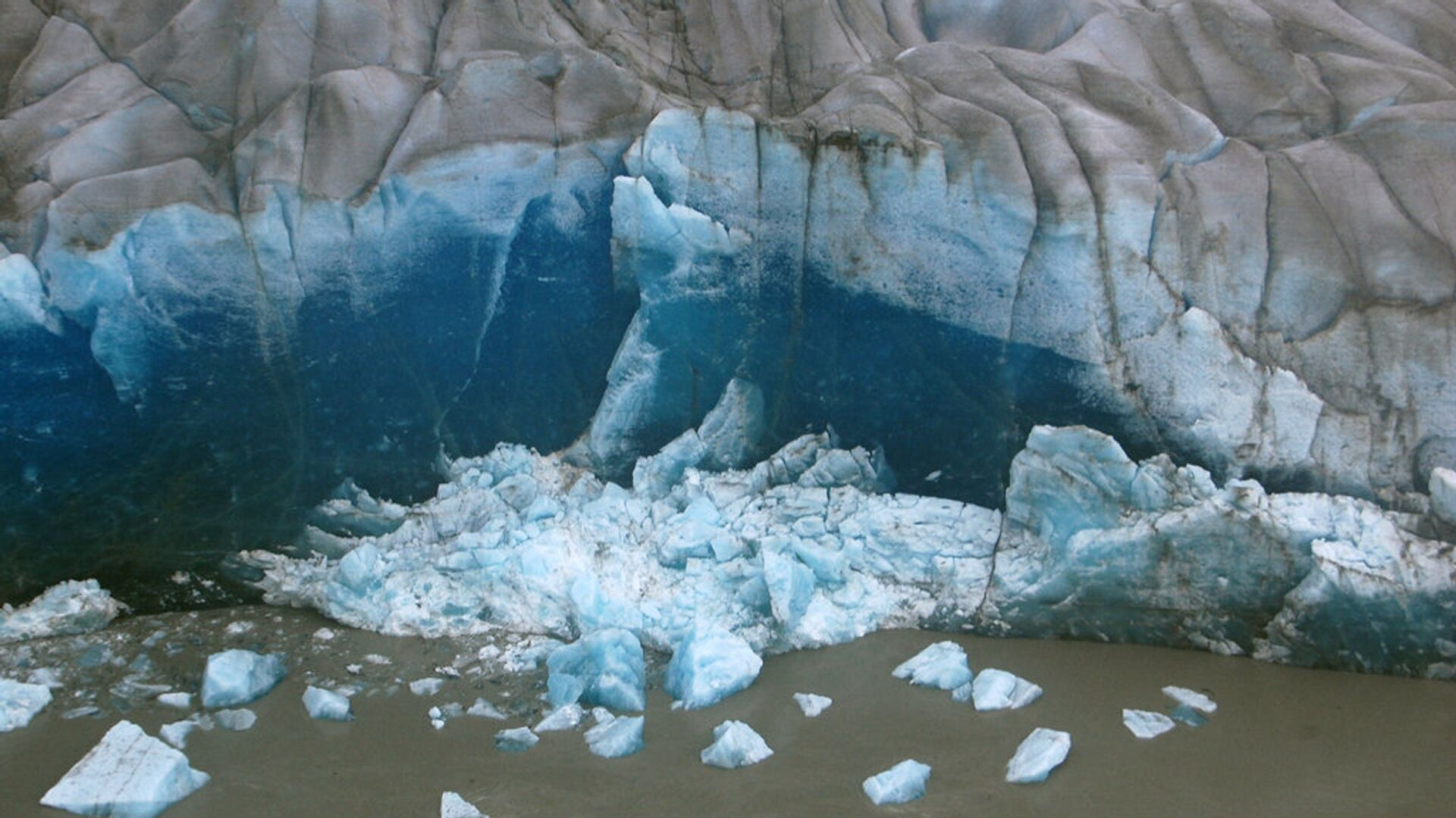 Ледник Аляски - РИА Новости, 1920, 19.10.2020