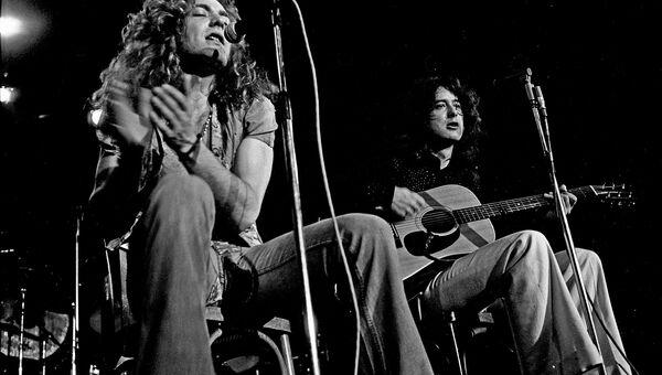 Акустический концерт рок-группы Led Zeppelin, 1973 год