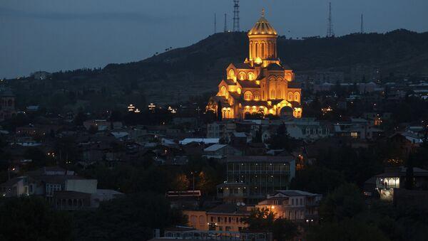 Собор Святой Троицы в Тбилиси. Архивное фото
