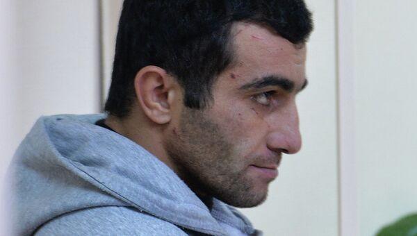 Орхан Зейналов, задержанный по подозрению в убийстве Егора Щербакова, архивное фото
